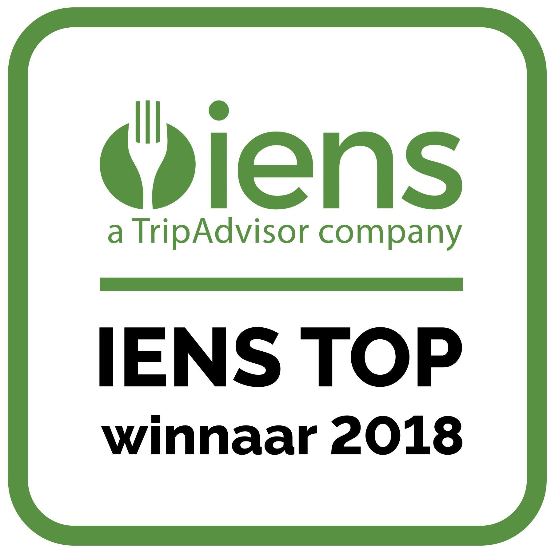 Plaza Cinco staat in de IENS TOP 2018! - Logo